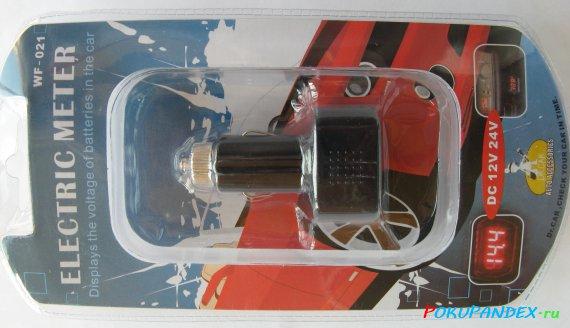 Автомобильный вольтметр Dr.Car