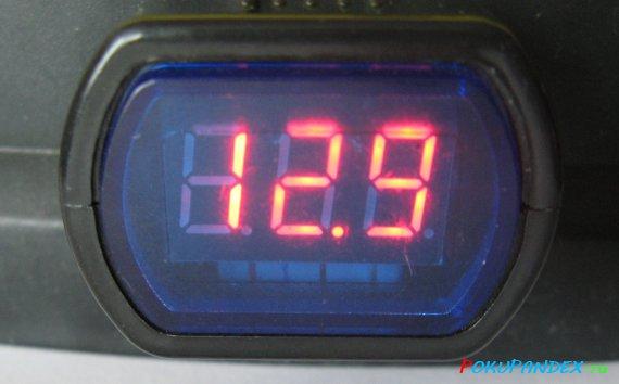 Вольтметр - измерение напряжения аккумулятора автомобиля