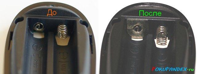 Решение от неправильной установки батареек в китайских устройствах