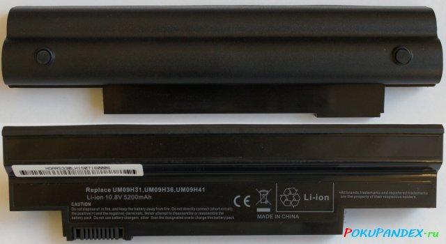 UM09H31 - аккумулятор для Acer - замена UM09H70