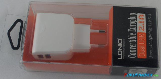Зарядное устройство LDNIO DL-AC56 - внешний вид