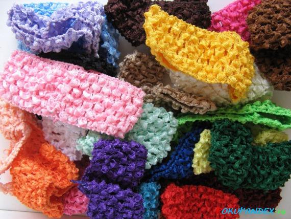 Эластичные повязки для волос