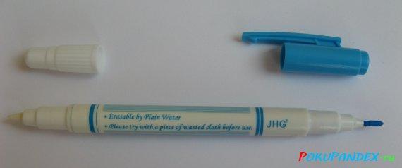 смывающийся маркер для канвы