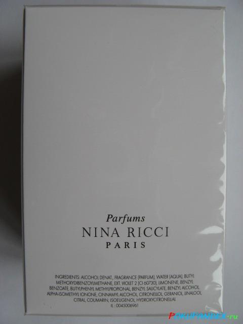 Парфюмированная вода Ricci Ricci