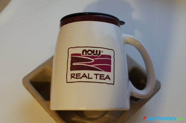 Now Foods Ceramic Tea Mug