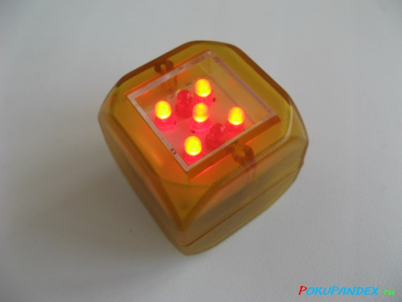 Электронный кубик (игральная кость)