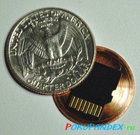 Шкатулка из 25 центов