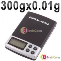Цифровые ювелирные весы 300g/0.01g и 1000g/0.1g (Digital Pocket Jewelry Scale)