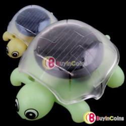 Черепашка на солнечных батарейках