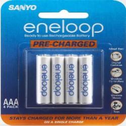 Аккумуляторы SANYO eneloop NiMH AAA 800 mAh LSD 4-pack