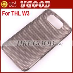 Жесткий чехол-бампер для телефона ThL W3+