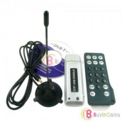 Цифровой ТВ-тюнер - Digital TV DVB-T USB Stick Dongle Tuner