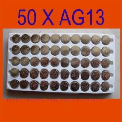 Самые дешевые батарейки AG13 LR44 - 50 x