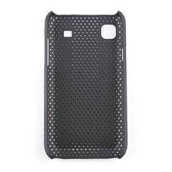 Жесткий чехол-бампер для Samsung i9000 Mesh Style Protective Case (Black)