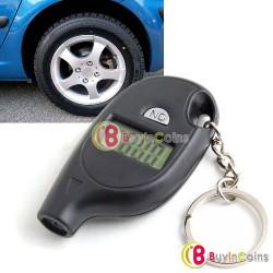 Автомобильный манометр-брелок для измерения давления в шинах