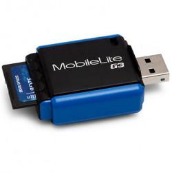 Обзор кардридера Kingston USB 3.0 MobileLite G3