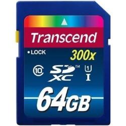 Тест карты памяти Transcend 64Gb SDXC UHS-I 300x