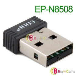 WiFi адаптер EDUP EP-N8508 - 802.11n USB (чип RTL8188CUS)