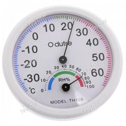 2-в-1 термо-гигрометр