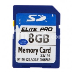 Карта памяти Elite Pro 8 GB SDHC
