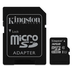 Карта памяти Kingston 32 Gb microSDHC UHS-I Class 10