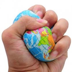 Анти стресс игрушка в виде глобуса
