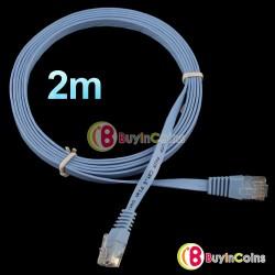 Плоский сетевой кабель UTP CAT6 RJ45 (патч-корд)
