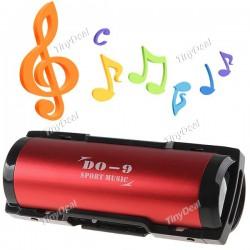 Портативный стерео динамик с FM TF картой USB слотами + 3.5mm аудио джеком для ПК MP3 плеера
