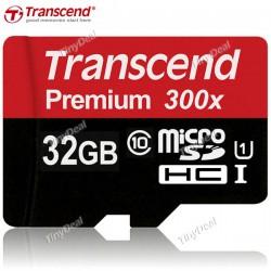 Тест карты памяти Transcend 32Gb Premium 300x microSDHC UHS-I