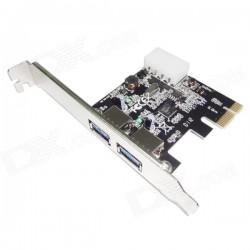 PCI-E Плата-адаптер с двумя портами USB 3.0