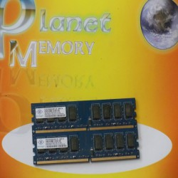 Память Nanya 4GB 2X2GB DDR2 PC2-6400 800MHz Low Density