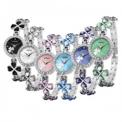 Женские часы KIMIO K456L с листиками клевера