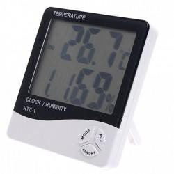 Дешевый бытовой измеритель почти всего - HTC-1 (термометр/гигрометр/часы)