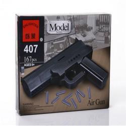 Пистолет от Enlighten (модель 407, 167 деталей)