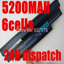 Аккумулятор для нетбука Acer Aspire One 532h UM09H70 (UM09H31) - 5200mAh