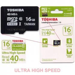 Карта памяти Toshiba 16GB microSDHC UHS-I