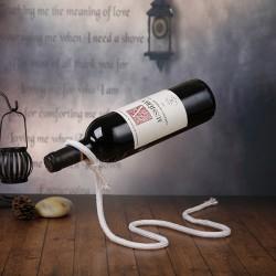 Стильные держатели для винных бутылок с эффектом левитации
