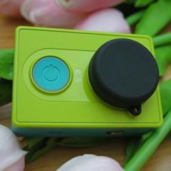 Силиконовая крышка на объектив камеры Xiaomi Yi