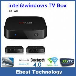 Двухсистемный мини-пк/тв-бокс Wintel W8