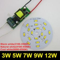 Светодиодная лампочка из люминесцентной