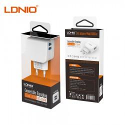 Зарядное устройство LDNIO DL-AC56 (Dual USB 5V 2.1A)