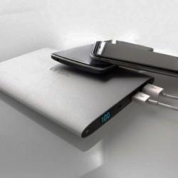 Тонкое портативное зарядное устройство/Power bank/USB батарея Vinsic Alien /20000mAh