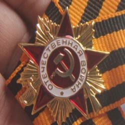 Значок в виде ордена Отечественной войны