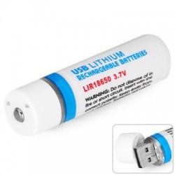 Аккумулятор с USB-входом для зарядки