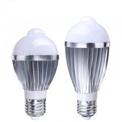 """LED лампы со встроенным датчиком освещения и движения - """"готовые к употреблению""""- 220v"""