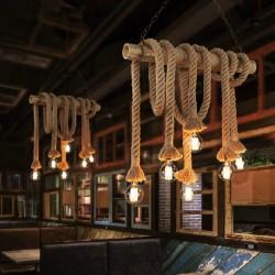 """Винтажный светильник из """"Старинных веревок"""" :) Примерно так называется этот светильник у китайцев"""