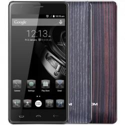 """HomTom HT5 - 5"""" бюджетный смартфон с хорошей батареей, поддержкой 4G LTE и """"деревянной"""" задней крышкой"""