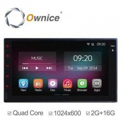 """Головное устройство aka 7"""" 2 DIN магнитола Ownice C200-OL-7001B (N) на Android 4.4 с 2/16 Гб памяти"""