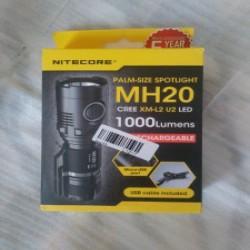 Обзор фонаря NiteCore MH20 — 1000 Lm/18 650/micro-usb и прочее