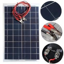 Гибкая солнечная панель 30W 12V. Заряжаем автомобильный аккумулятор и не только...